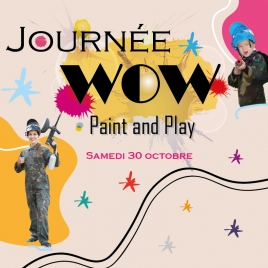 JOURNEE WOW - PAINT AND PLAY